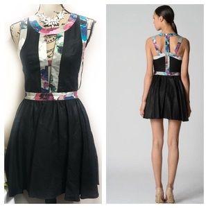 """Keepsake """"the label"""" black dream believer dress"""